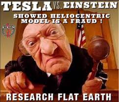 Tesla vs Einstein Showed Heliocentric Model Is Fraud FEMemes