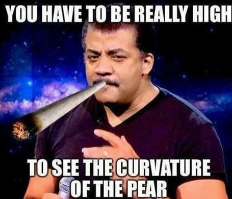 Neil deGrasse Tyson You Have To Be Really High
