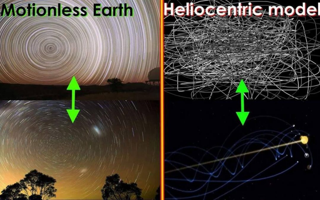 Star Rotations Matter, Stationary, Motionless Earth vs Heliocentric Model FEMemes