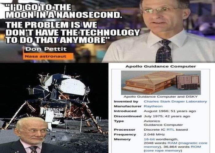 Don Petit NASA Astronaut Moon excuses apollo guidance computer
