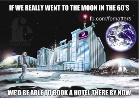 If We Really Went To The Moon In The 60's