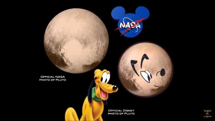 Disney's Pluto and NASA's Pluto