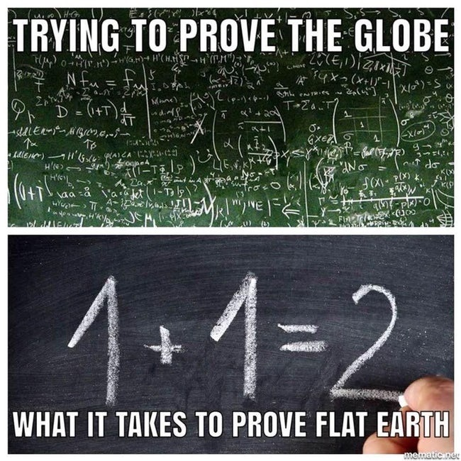 Trying To Prove The Globe What It Takes To Prove The Flat Earth