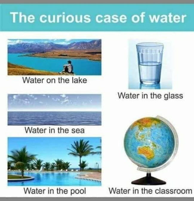 The Curious Case Of Water Real World Vs Classroom